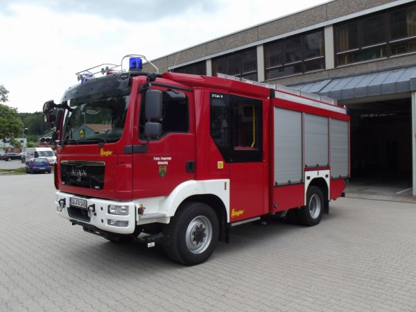 FF Altensteig neues  MAN LF 20/16