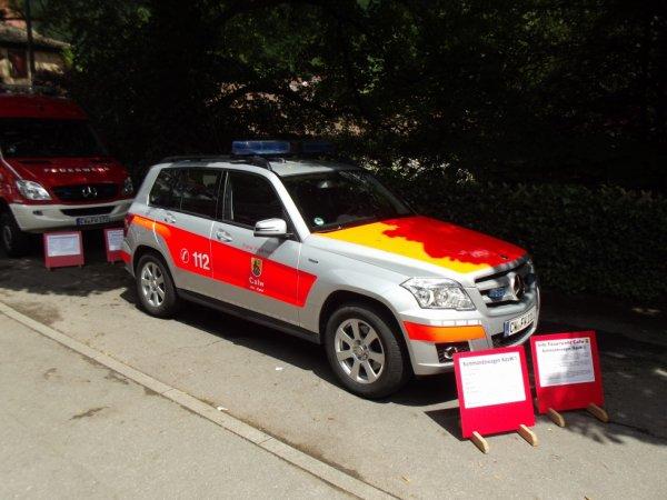 FF Calw neuer Mercedes Kommandowagen