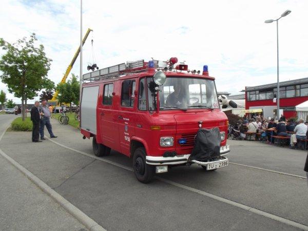 FF Ergenzingen Landkreis Tübingen Mercedes LF8