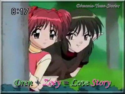 Dren + Zoey = Love Story Chapitre 00 - Présentation de ma Fan-Fiction Dren + Zoey = Love Story