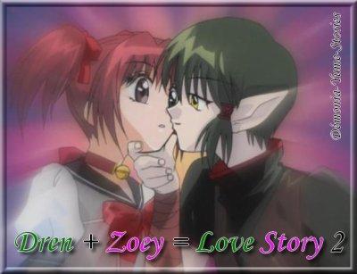 Dren + Zoey = Love Story 2 Chapitre 00 - Présentation de ma Fan-Fiction Dren + Zoey = Love Story  2