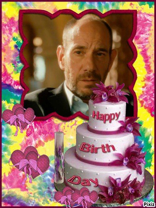 Joyeux anniversaire à Miguel Ferrer même si tu es plus là :'( (u)