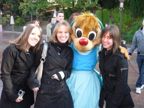 Disney le 18 octobre 2009