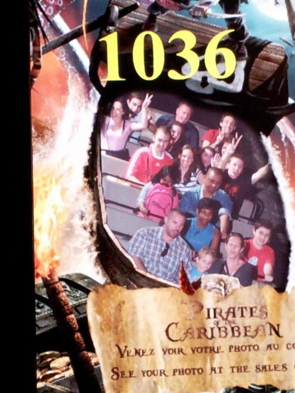 Disney avec la famille (24 juin 2012)