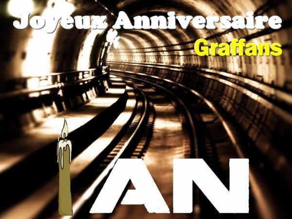 Le premier anniversaire du blog !