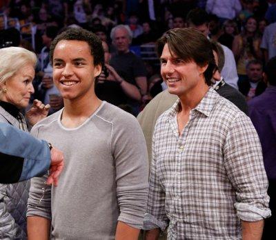 tom cruise et son fils adoptive connor