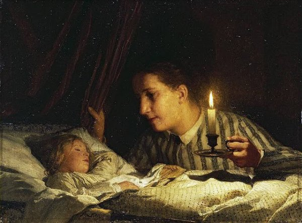 """""""Veille chaque jour sur les vieux ans de ta mère qui passait des nuits à côté de ton berceau.""""             Pierre-Louis Lacretelle"""