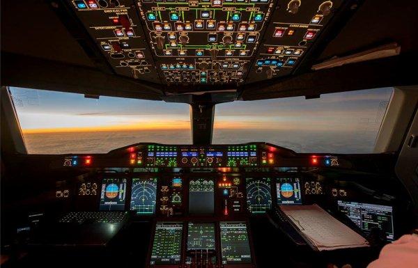Vol d'essai à bord d'un airbus A380
