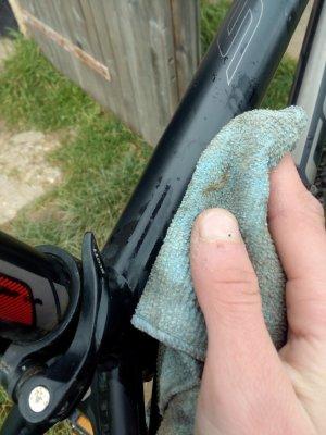 Technique de base pour le nettoyage de sont vélo