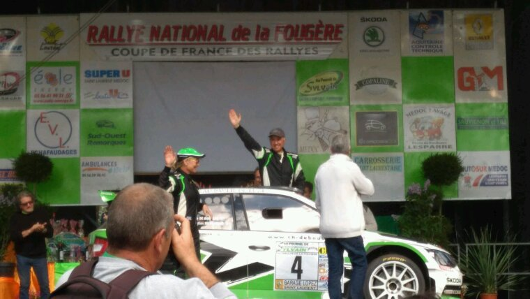 Rally de la Fougère en Gironde !