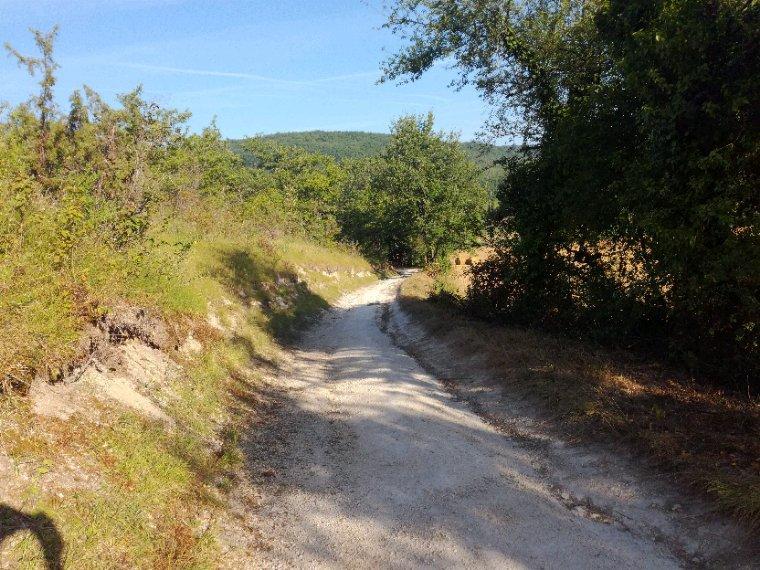 Chemin de À Bonaguil