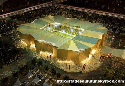 CM 2022 - QATAR - LE NOUVEAU STADE D'UMM SALAL