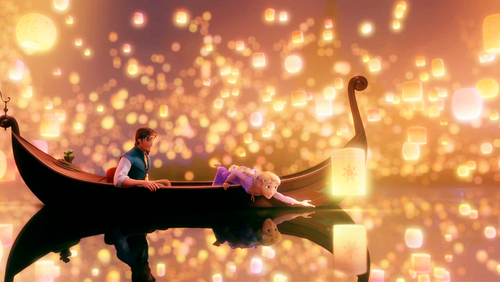 Tangled - Yes, I'm a big ol'child but I totally LOVED it. <33