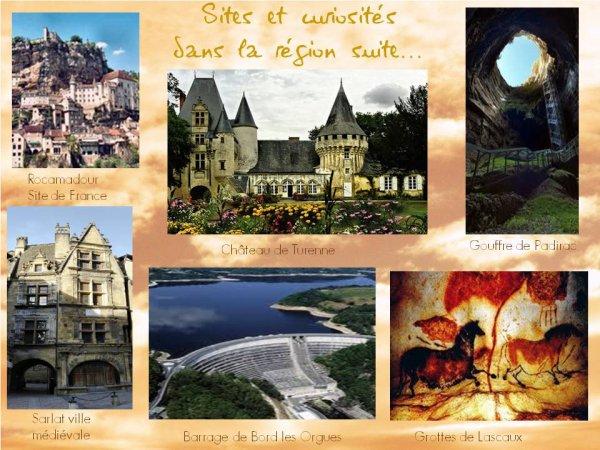 SITES ET CURIOSITES DANS LA REGION http://www.vacances-en-correze.net/