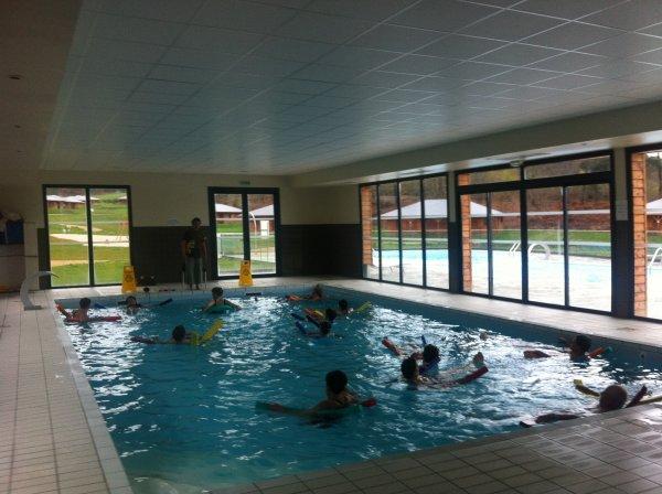 Cours de gym aquatique