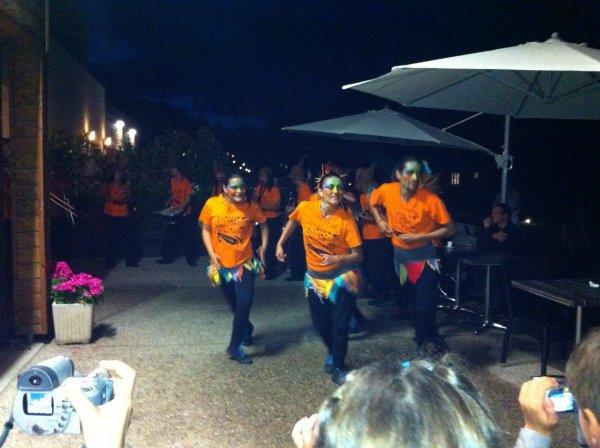Soirée Samba aux Cottages du Puy d' Agnoux  ( Juillet 2012 )