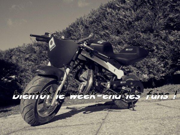 bientôt le week-end les fans ! :) #KN