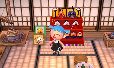 Mes cosplays dans Animal Crossing : New Leaf (Miku Hatsune) !