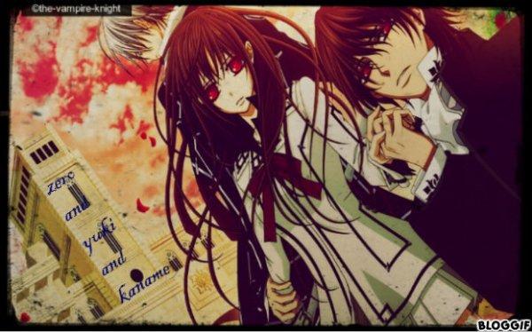 zero and yuki and kaname