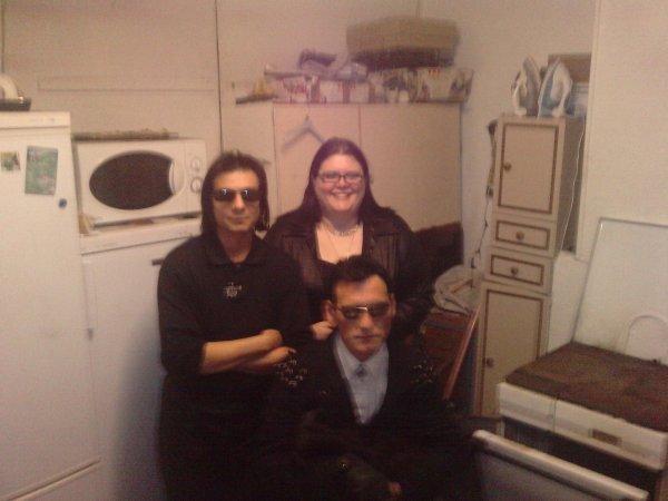 Ma famille, nous 3