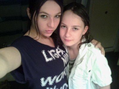 Photo de ma nièce Maéva et la miss Vanessa !!