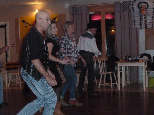 Soirée Grange-sur-Velogne....Au Country Saloon...