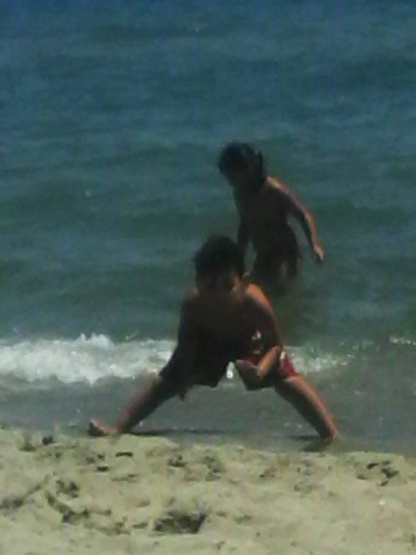 j adore la plage