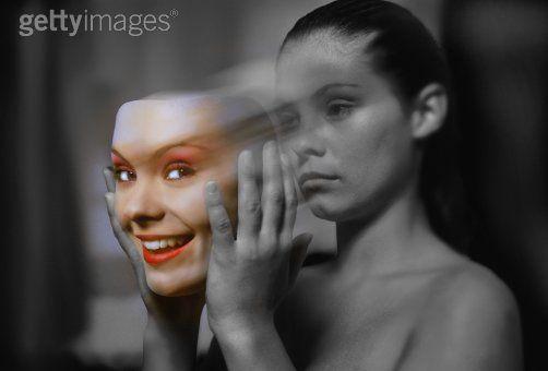 Le Sourire n'est en réalité que le reflet de La Tristesse..