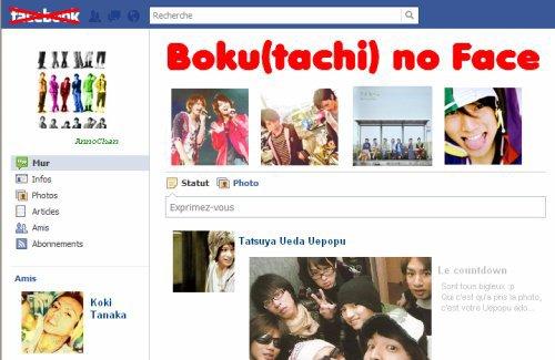 Boku(tachi) no Face - chapitre 7 : A la recherche d'Etto (et accessoirement de RyoDa, Keii et ShigePi)