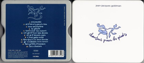 2001 - Chansons pour les pieds