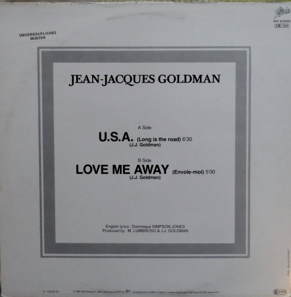 1984 - USA (Long is the road) (maxi 45t)