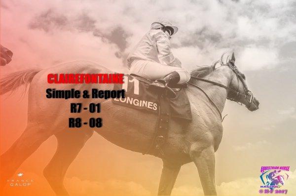 Clairefontaine jeu simple & report du 24/08