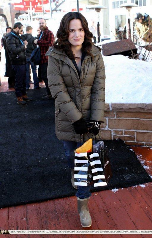 Elizabeth Reaser au festival du film de Sundance