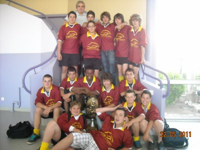 Le rugby club de L ' ALARIC  CHAMPION !!!!