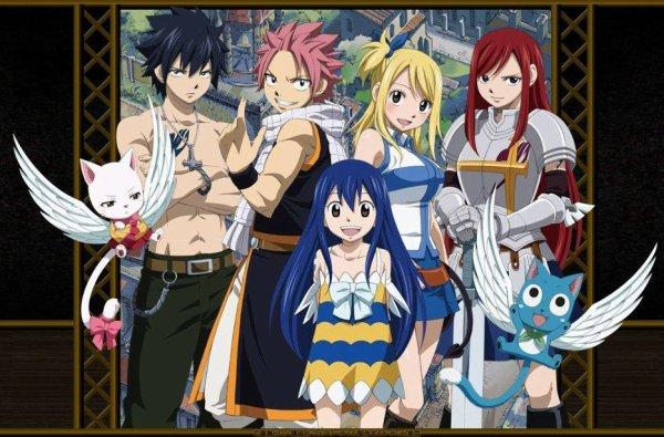 Fairy Tail mon manga préfére <3