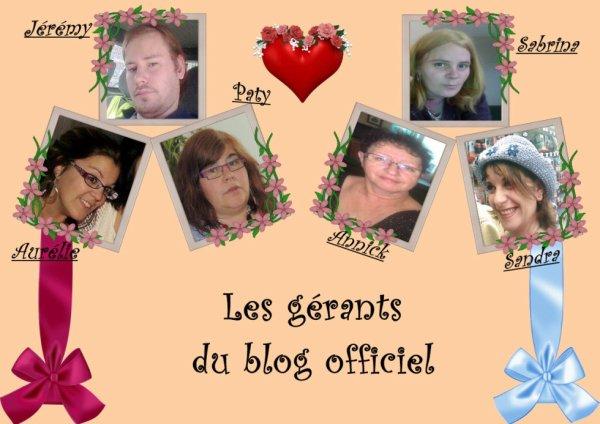 Les gérants du blog