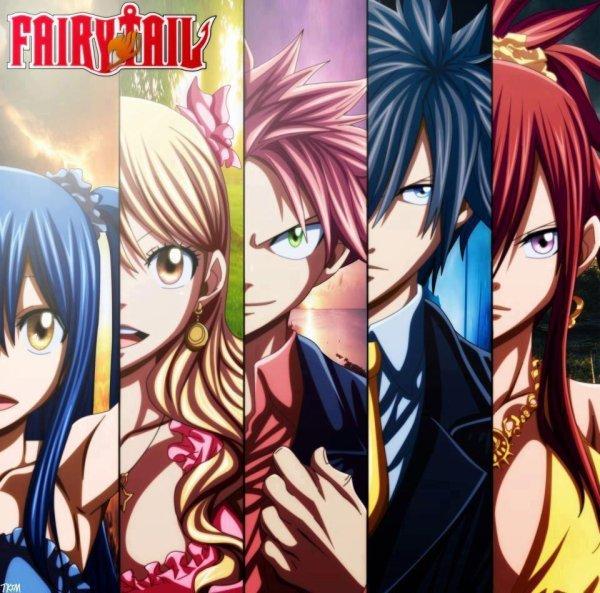 Fairy Tail, ma vie, ma famille <3