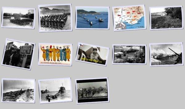Le 15 aout 1944  l les allies envahissent la Provence
