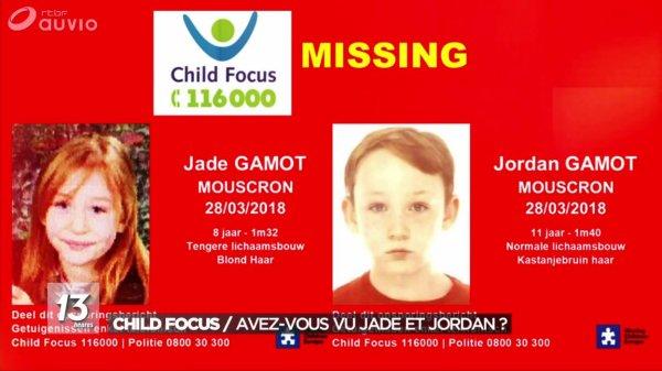 Mouscron: Jade et Jordan ont été retrouvés!