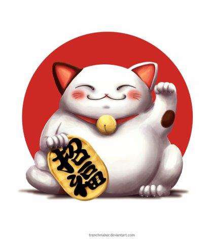 Maneki Neko 1 3 100 Sur Le Japon