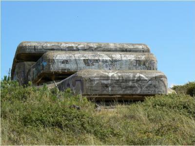 Bunkers.
