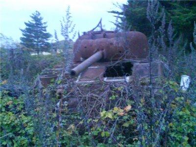 Carcasse M4 Sherman.