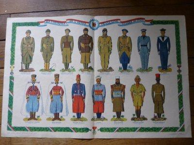 Les uniformes de l'armée française de 1939.