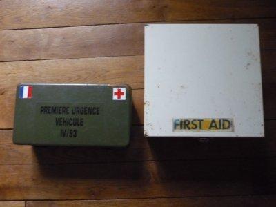 Boites first aid.
