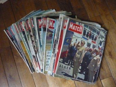 Collection de Paris match.