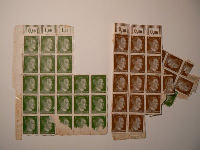 Timbres allemand.