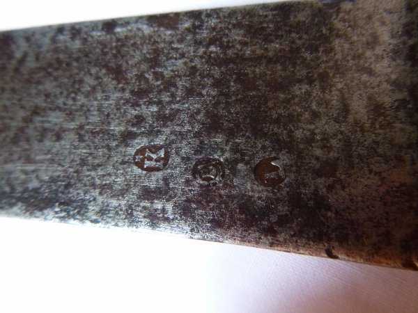 Sabre briquet époque napoléonienne, de fouille.
