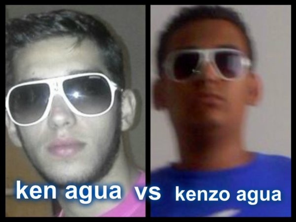 Ken VS kenzo agua