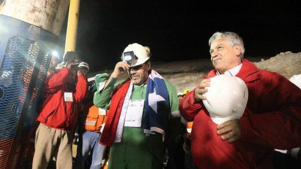 Art 1374 : Les mineurs sauvés, le président chilien récolte les fruits politiques
