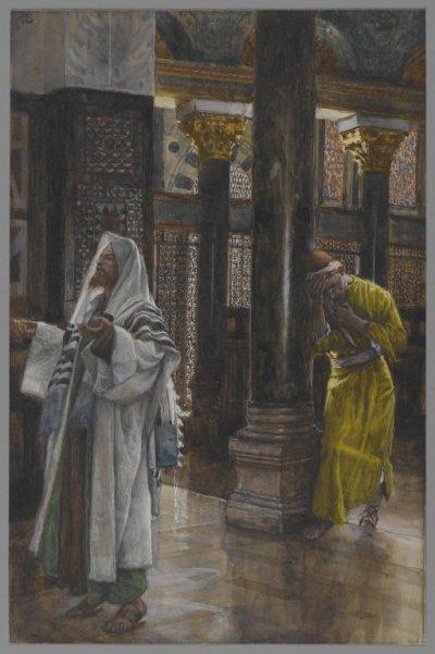 Art 1385 : Le pharisien et le publicain